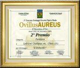 Ovillus AUREUS: Il Pecorino d'Oro - 2° Premio